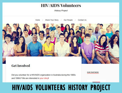 HIV/AIDS Volunteers History Project